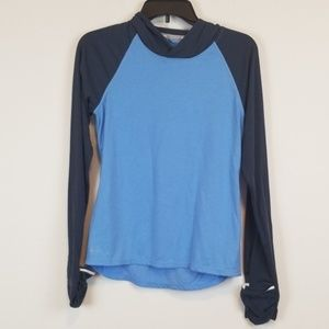 Nike dry fit running hoodie top size small